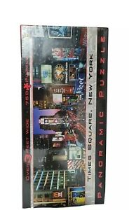 Times Square New York Buffalo Games Panoramic Jigsaw Puzzle 750 pieces SEALED 3'