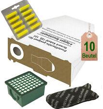 Filtertüten + Hepa Filterset + Duft geeignet für Vorwerk 130 131 SC