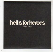 (FW931) Hell Is For Heroes, Night Vision - 2002 DJ CD