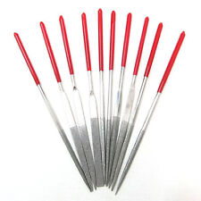 10pcs Diamond Needle File Set Jeweler  Wood Carving  Metal Glass Stone UK Stock