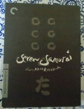 Seven Samurai by Akira Kurosawa [Criterion Collection Dvd Complete with Booklet]