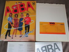 ABBA VHD Abba Special JAPAN-ONLY VHD w/Picture Slip Case-broken+Insert VHM-58013