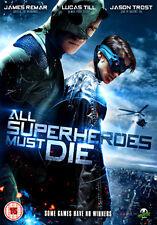 ALL SUPERHEROES MUST DIE - DVD - REGION 2 UK