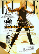 Elle 7/11,Emma Stone,Subscription Cover,July 2011,NEW
