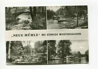uralte AK Neue Mühle bei Königs Wusterhausen verschiedene Ansichten 1976 //07