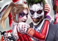 JOKER AND HARLEY QUINN Suicide Squad Batman Art Print Pic Photo Poster A3 A4