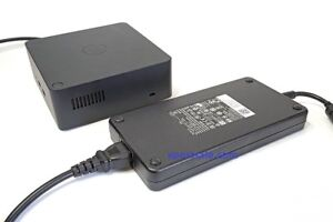 Genuine DELL TB16 THUNDERBOLT DOCKING Station With 240W Adapter