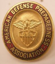 American Defense Preparedness Association Vintage Lapel Pin Tie Tack gift