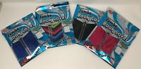 Premium Edition Academic XXL Jumbo Assorted Super Stretchy Book Covers- 4 Pack