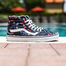 Vans Sk8 Hi Reissue (Pool Vibes) Black/True White Skate Shoes Men's 11