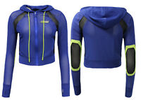 Puma X Rihanna Fenty Womens Panelled Mesh Track Jacket Blue 577304 01 EE24