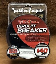 NEW Rockford RFCB140 1/0-4 AWG 140 Amp Circuit Breaker