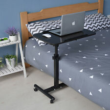 Adjustable Computer Table Portable Lazy Desk Stand Bed Soft Side Laptop Wheels