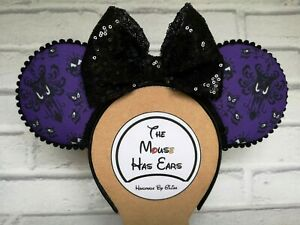 Disney inspired Haunted Mansion Mickey Mouse ears Halloween Limited Edition