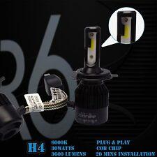 CGD R6-S Series COB Chip 6400 Lumens 60 Watts 6000K Xenon Bright White H4