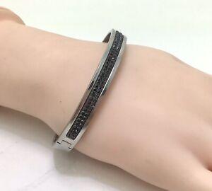 """Dyrberg Kern Lorbel Silver Bracelet 333169, 7""""/18cm RRP £85"""