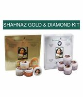 Royal Combo Shahnaz Husain Gold Facial Kit & Diamond Facial Kit Face 40 gm