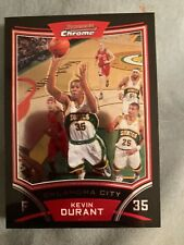 2008-09 Kevin Durant Bowman Chrome No Scratches Or Other Issues Very Nice Card