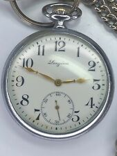 Antique Longines 1930's Pocket Watch