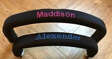 Personalised Bumper Bar Covers Made To Fit Bugaboo Icandy Quinny Oyster And More
