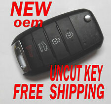 NEW OEM 2014 2015 KIA OPTIMA FLIP KEY LESS REMOTE NYODD4TX1306-TFL 95430-2T560