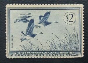 nystamps US Duck Stamp # RW22 MOGH       O15y638