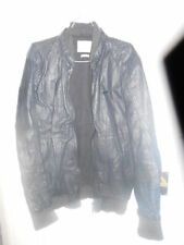 River Island Waist Length Leather Coats & Jackets for Men