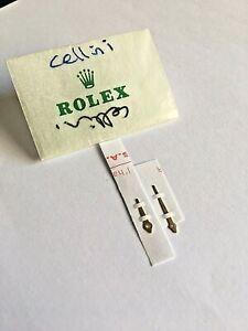 New Genuine Rolex Cellini Yellow Gold Hands Set . 5115 Models. Rolex Manufacture