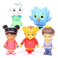 5 PCS Daniel Tiger's Neighborhood Action Figure Kids Toy Doll Gift Cake Topper