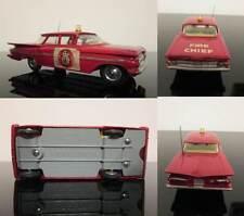 Macchinina pompieri Chevrolet Impala CORGI TOYS 439 Fire Chief 1:43 ORIGINAL