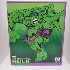Marvel The Incredible Hulk Hulk's Comin! 63 Piece Puzzle 2003 Factory New Sealed