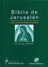 Biblia De Jerusalen Latinoamericana En Letra Grande Spanish Edition
