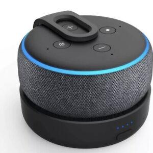 GGMM D3 Battery Base For Amazon Echo Dot 3rd Gen(Dot Not Included) UK Dispatch
