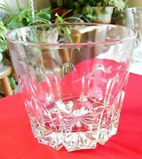 Vintage Wine Champagne Ice Bucket Cut Crystal Etched