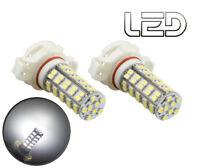 2 Ampoules H16 PSX24W 68  LED SMD Blanc 12v 6000K Pour Feux de jour