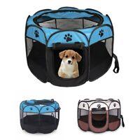 tragbares faltbares Zelt der Haustier Haus von Hund Cage Hund Katze Zelt La M7H8