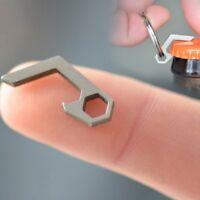 1xWertvolle Bier Flaschenöffner Mini Schlüsselanhänger Kleine Werkzeug Neue