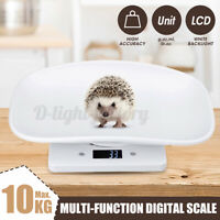 Digital Baby Scale Infant Weighing Scales 10KG Pet Scale Kitchen Scale LCD