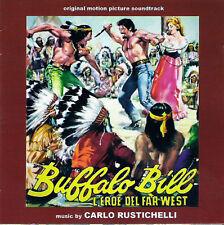 Carlo Rustichelli: Buffalo Bill L'Eroe Del Far West (New/Sealed CD)