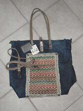 Louiz & Lou Shopper Jeans Denim Schultertasche Damen Tasche neu mit Etikett