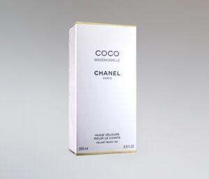 Chanel COCO MADEMOISELLE Velvet Body Oil 6.8oz / 200ml NEW NIB Sealed