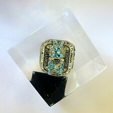 2004 TAMPA BAY LIGHTNING SC CHAMPION CHAMPIONSHIP RING LUCITE CUBE PAPER WEIGHT