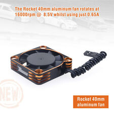 Rocket 8.5V de alta velocidad del ventilador de refrigeración para 4068 Motor Brushless ESC 1/10 1/8 RC Coche