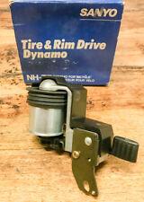 SANYO NH-T7 Tire&Rim Dynamo - New in Box! - 2.4 Watt 6 Volt. Made in Japan.