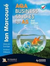 AQA Business Studies for AS by Andrew Gillespie, Nigel Watson, Malcolm Surridge…