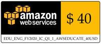 AWS $40 VPS EC2 Credit Code
