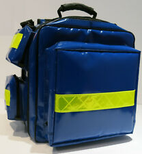 Notfallrucksack   Modell Kassel  Planengewebe  blau  Vorführmodell