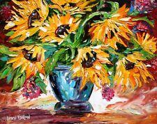 "20"" TARLTON LIMITED #9/50 Art Giclee Print Sunflowers"