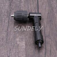 Hi-Q Right angled drill chuck attachment 90 degree 10mm keyless