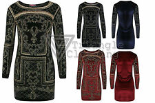 Long Sleeve Textured Dresses for Women